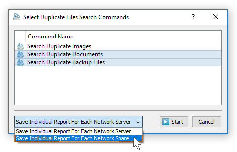 Batch Duplicate Files Search Mode
